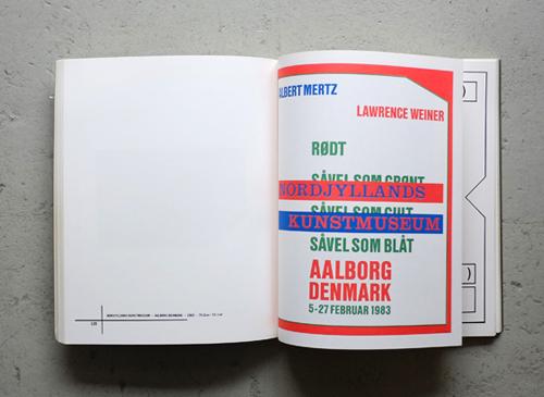 Lawrence Weiner: Posters November 1965 - April 1986