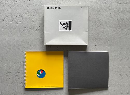 Dieter Roth: Gesammelte Werke Band 1 - 2 Bilderbucher