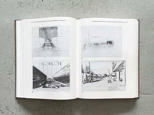 The Louis I. Kahn Archive: Personal Drawings