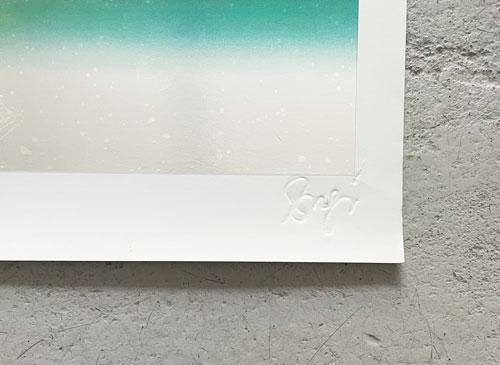 杉浦康平ポスター 『カミ・仏への捧げ物』