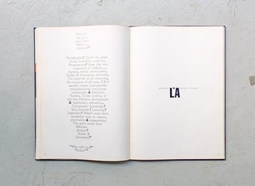 Aaron Burns: Typography