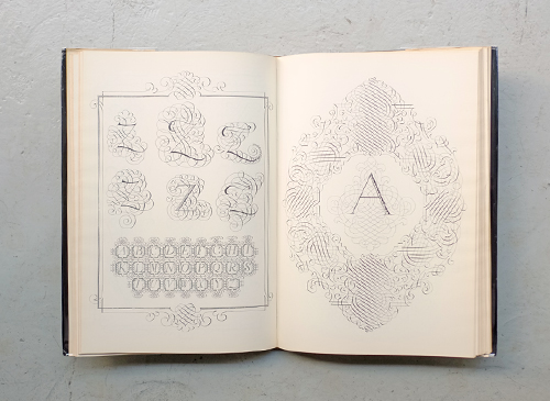 Johann Georg Schwandner: Calligraphy