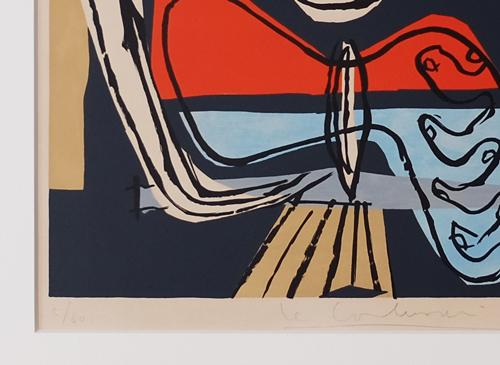 Le Corbusier: Le Poeme de l'Angle Droit. ed.signed.