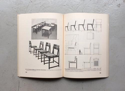 Erich Dieckmann: Mobelbau in holz, rohr und stahl / Mobelbau 1921-1933 2冊セット
