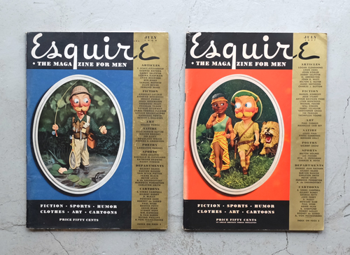 Esquire: The Magazine For Men 1935-37年 各号