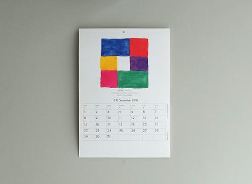 calendar 2019 shukuro habara's collection