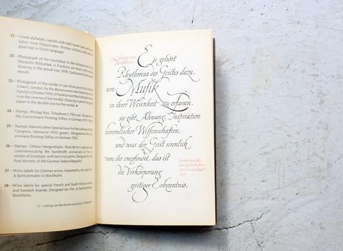 Hermann Zapf: Calligraher, Type-designer and Typographer