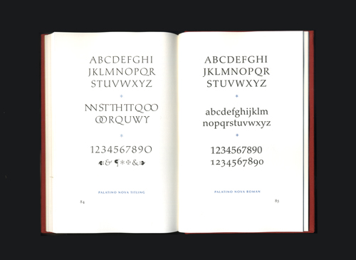 ABOUT MORE ALPHABETS / THE TYPES OF HERMANN ZAPF