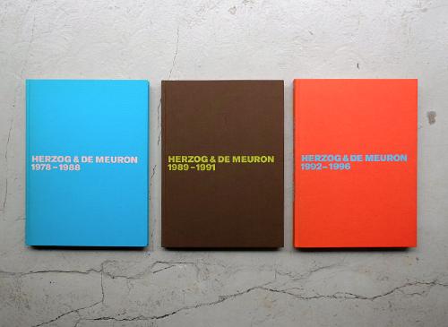 HERZOG & DE MEURON: The Complete Works Volume 1-3 3巻セット
