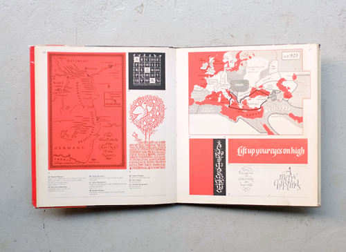 Lettering today - a survey and reference book