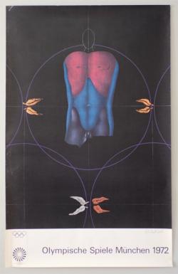 Olympische Spiele Munchen 1972 Art Poster No.16-20