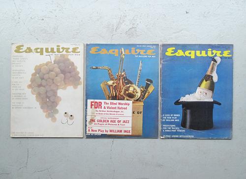 Esquire: The Magazine For Men 1958-68年 各号