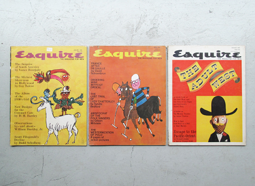 Esquire: The Magazine For Men 1958-68年 各号