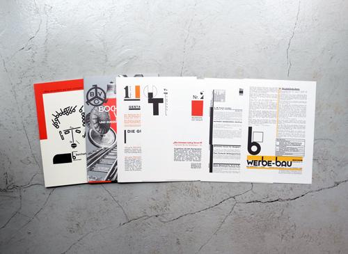 Max Burchartz 1887–1961, Typografische Arbeiten 1924 -1931 [Reprint]