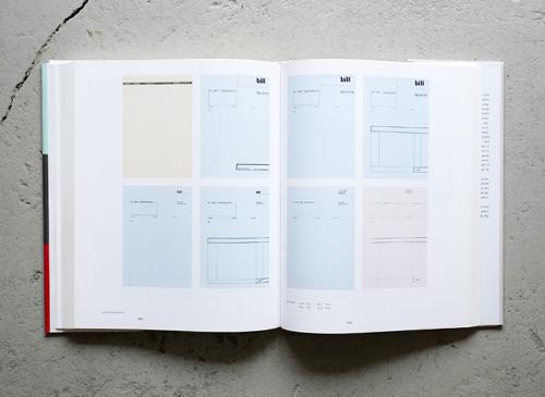 max bill: typografie reklame buchgestaltung / typography advertising book design