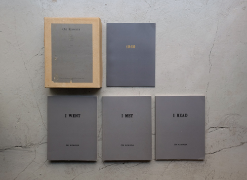 On Kawara: I Went, I Met, I Read, Journal 1969