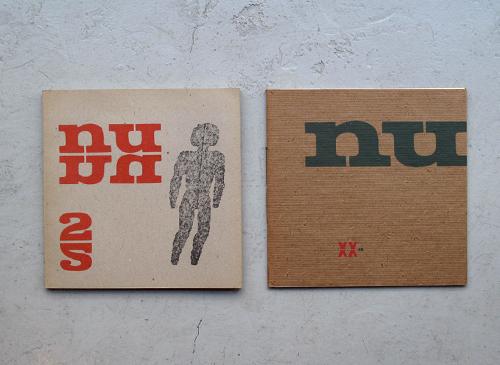 Quadrat-Print: Sandberg: NU + NU2 2冊セット